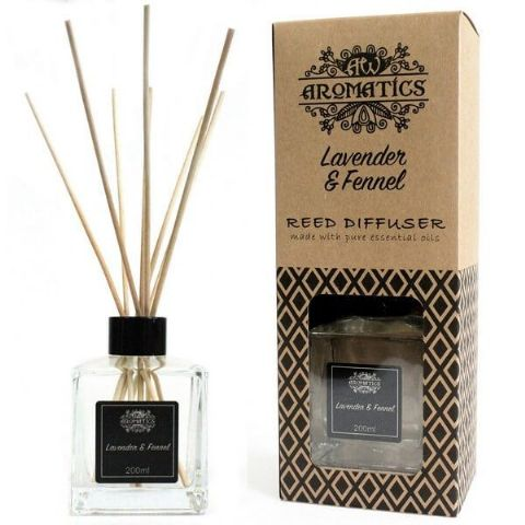 Lavender & Fennel Essential Oil Reed Diffuser - 200ml